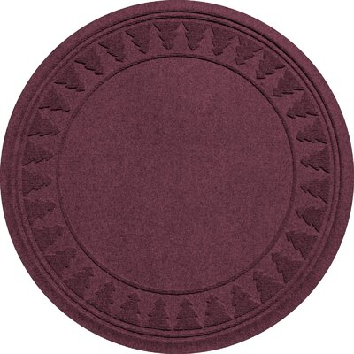 Aqua Shield Tree Skirt Doormat Color: Bordeaux