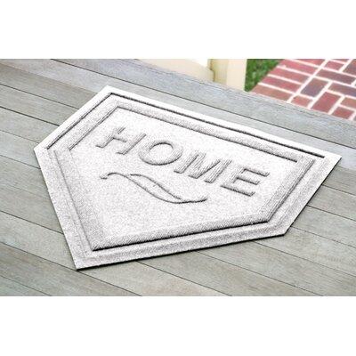 Engelmann Home Plate Doormat Color: White