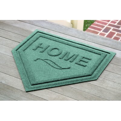 Engelmann Home Plate Doormat Color: Aquamarine