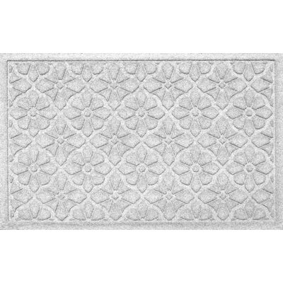 Conway Medallion Doormat Color: White