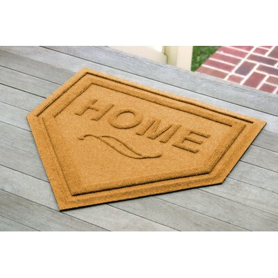 Engelmann Home Plate Doormat Color: Yellow