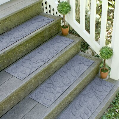 Conway Bluestone Brittany Leaf Stair Tread