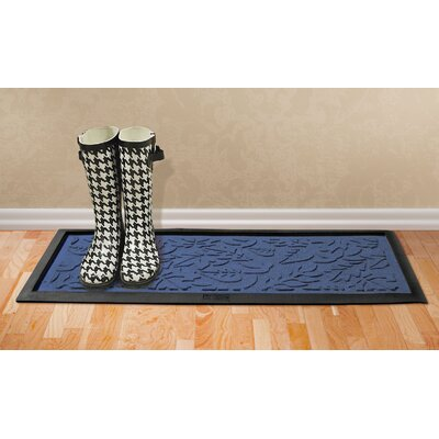 Conway Fall Day Boot Tray Color: Navy