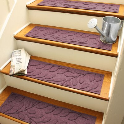 Aqua Shield Bordeaux Brittany Leaf Stair Tread