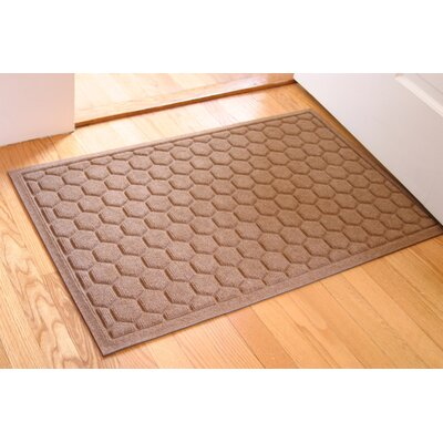 Finnerty Honeycomb Doormat Color: Medium Brown