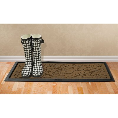 Conway Fall Day Boot Tray Color: Dark Brown