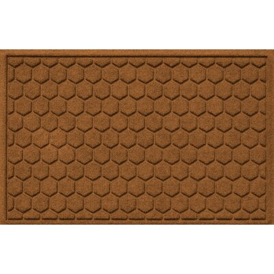 Finnerty Honeycomb Doormat Color: Dark Brown