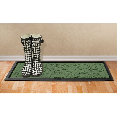 Aqua Shield Fall Day Boot Tray Color: Light Green