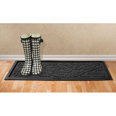 Aqua Shield Fall Day Boot Tray Color: Charcoal