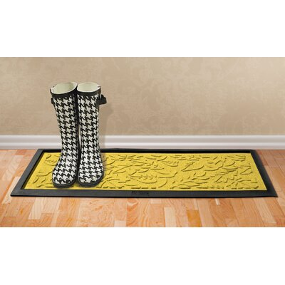 Conway Fall Day Boot Tray Color: Yellow