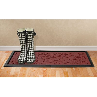 Conway Fall Day Boot Tray Color: Red
