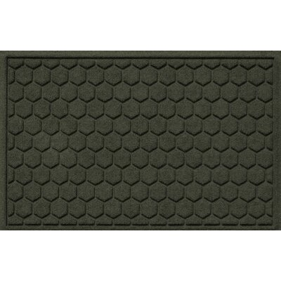 Finnerty Honeycomb Doormat Color: Charcoal