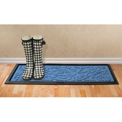 Conway Fall Day Boot Tray Color: Medium Blue
