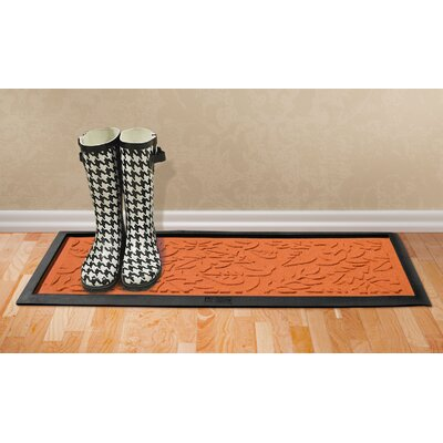 Conway Fall Day Boot Tray Color: Orange