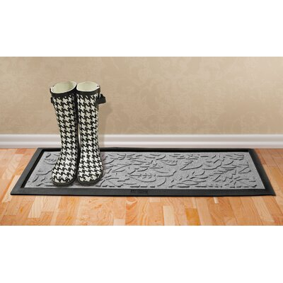 Conway Fall Day Boot Tray Color: Medium Gray