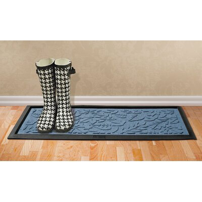 Conway Fall Day Boot Tray Color: Bluestone