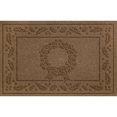 Conway Wreath Doormat Color: Dark Brown
