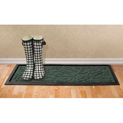 Conway Fall Day Boot Tray Color: Evergreen