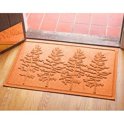 Conway Fir Forest Doormat Color: Orange