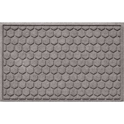 Finnerty Honeycomb Doormat Color: Medium Gray
