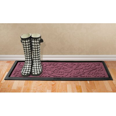 Aqua Shield Fall Day Boot Tray Color: Bordeaux