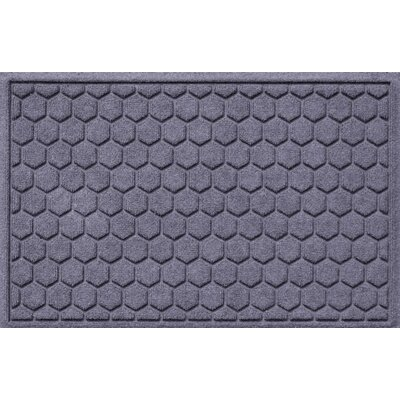Finnerty Honeycomb Doormat Color: Bluestone