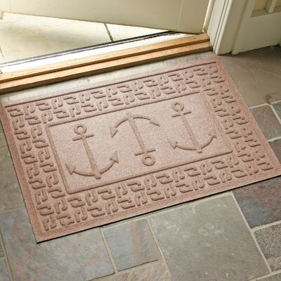 Aqua Shield Ahoy! Doormat Color: Medium Brown