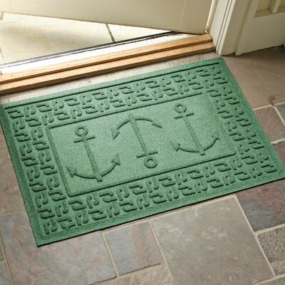 Aqua Shield Ahoy! Doormat Color: Light Green