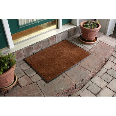 Aqua Shield Dirt Stopper Supreme Doormat Color: Golden Brown