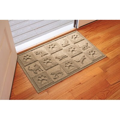 Aqua Shield Cat in the Doormat Color: Camel