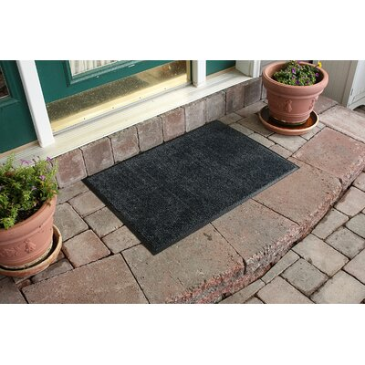 Aqua Shield Dirt Stopper Supreme Doormat Color: Slate Gray