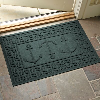 Conway Ahoy! Doormat Color: Evergreen