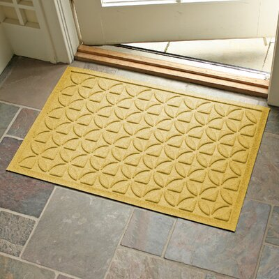 Aqua Shield Heritage Doormat Color: Yellow