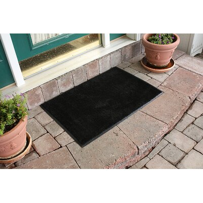 Aqua Shield Dirt Stopper Supreme Doormat Color: Black