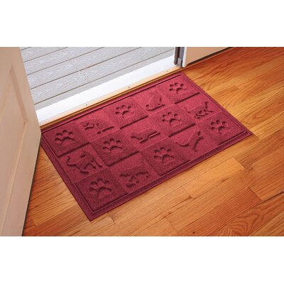 Aqua Shield Cat in the Doormat Color: Red