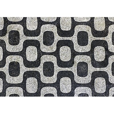 Fo Flor Modern Mosaic Doormat Rug Size: Rectangle 310 x 56