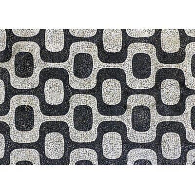 Fo Flor Modern Mosaic Doormat Rug Size: Rectangle 21 x 5
