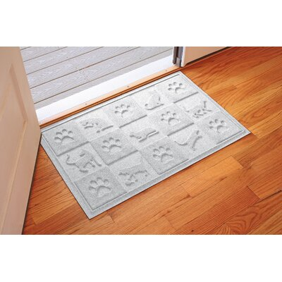 Aqua Shield Cat in the Doormat Color: White