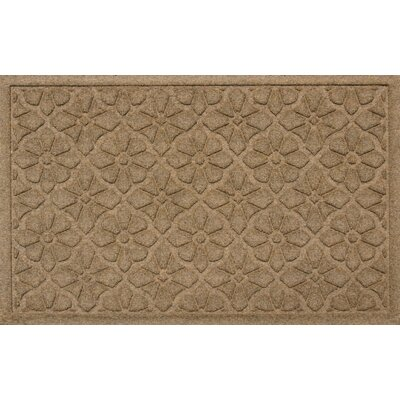 Conway Medallion Doormat Color: Camel