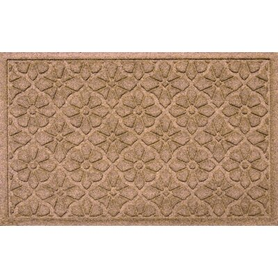 Aqua Shield Medallion Doormat Color: Medium Brown
