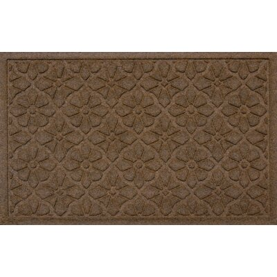 Conway Medallion Doormat Color: Dark Brown