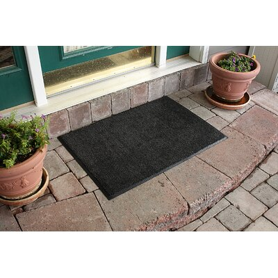 Aqua Shield Dirt Stopper Supreme Doormat Color: Midnight Gray