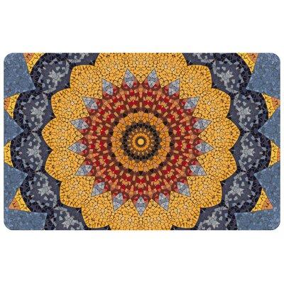 Fo Flor Sundial Mosaic Doormat Rug Size: 111 x 3