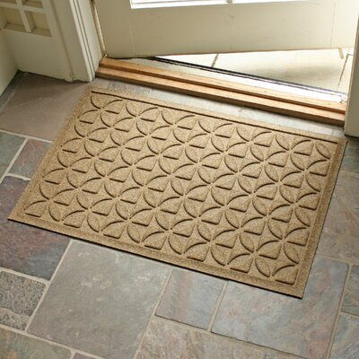 Conway Rectangle Doormat Color: Camel