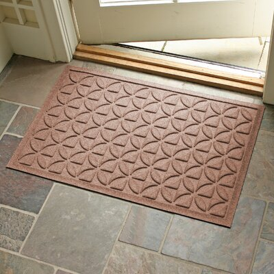 Conway Rectangle Doormat Color: Medium Brown
