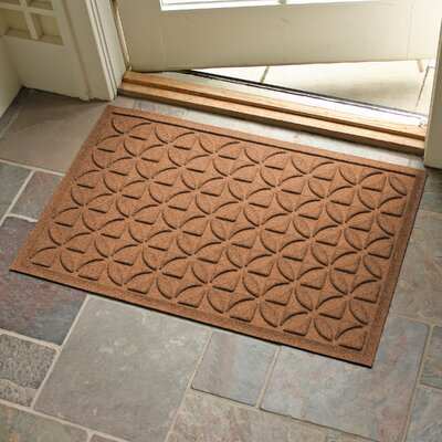 Aqua Shield Heritage Doormat Color: Dark Brown