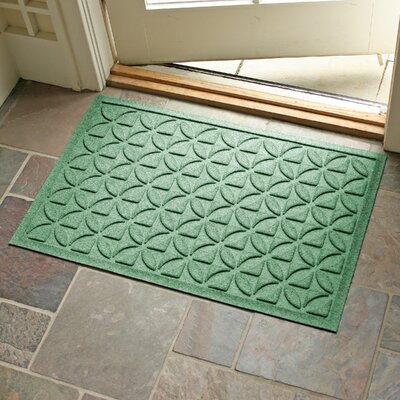 Conway Rectangle Doormat Color: Light Green