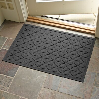 Conway Rectangle Doormat Color: Charcoal