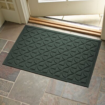 Conway Rectangle Doormat Color: Evergreen