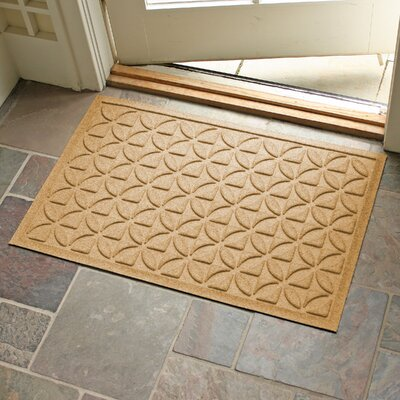 Conway Rectangle Doormat Color: Gold